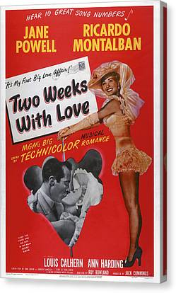 Two Weeks With Love, Insert Ricardo Canvas Print by Everett
