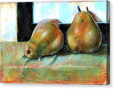 Twosome Canvas Print by Gertrude Palmer