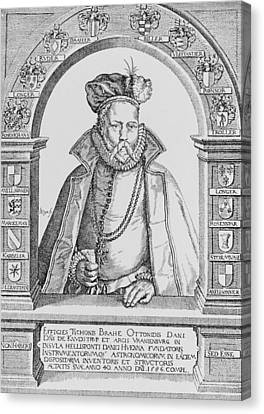 Tycho Brahe Canvas Print by Science, Industry & Business Librarynew York Public Library