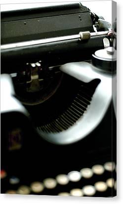 Typewriter '30s Canvas Print
