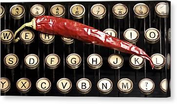 Typewriter Keys Xt Canvas Print