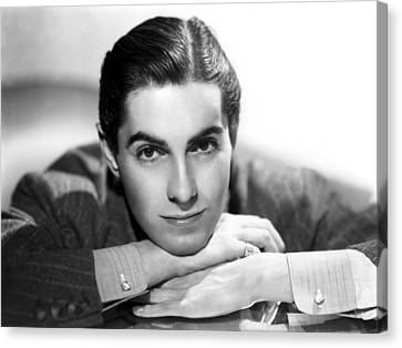 Tyrone Power, 20th Century-fox, 1937 Canvas Print