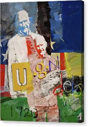 U G N Debs  -m- Canvas Print by Cliff Spohn