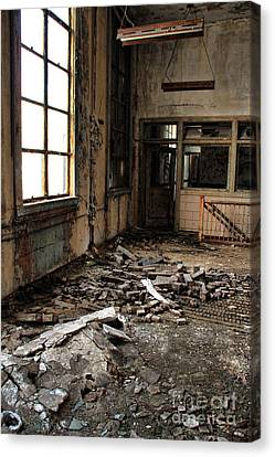 Uban Decay Canvas Print by Joanne Coyle