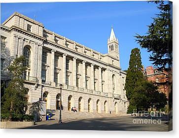 Uc Berkeley . Sather Tower Campanile . Wheeler Hall . South Hall Built 1873 . 7d10043 Canvas Print