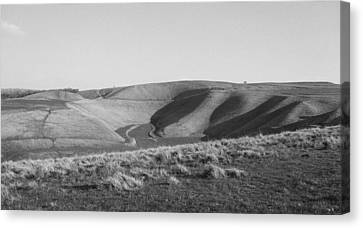 Uffington White Horse Canvas Print by Michael Standen Smith