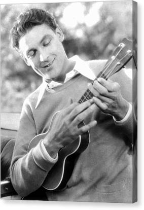 Ukelele Player, C1927 Canvas Print by Granger