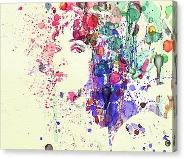 Uma Thurman Canvas Print