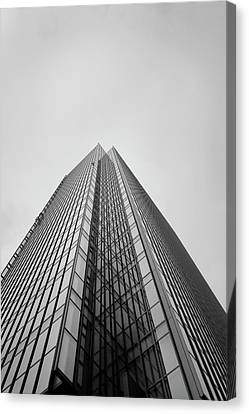 Umeda Tower Canvas Print by please contact me for any interest. All rights reserved