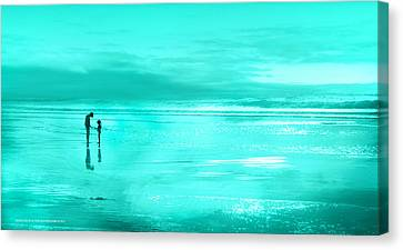 Canvas Print featuring the photograph Una Concha  by Alfonso Garcia