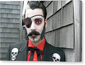 Uncle Eerie Canvas Print by Pamela Patch