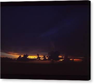 Under Darken Sky Canvas Print by Bob Whitt