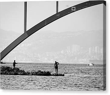 Under The Bridge 2 Canvas Print