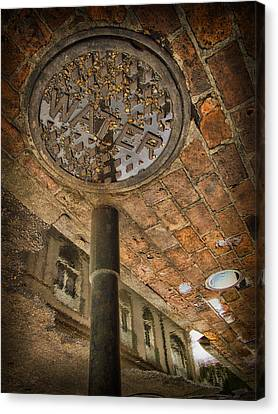 Under The Bridge Canvas Print by Russell Styles