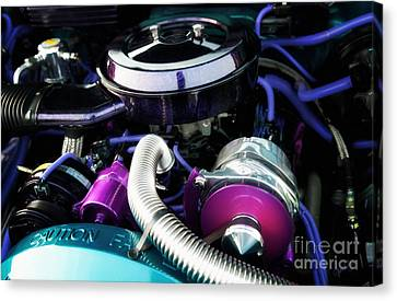 Under The Hood By House Of Kolor Canvas Print by Anne Kitzman
