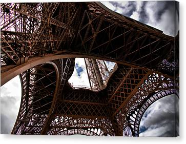Under The Tower Canvas Print by Edward Myers