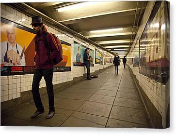 Underground Canvas Print by Art Ferrier