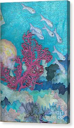 Underwater Splendor I Canvas Print by Denise Hoag