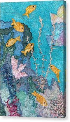 Underwater Splendor II Canvas Print by Denise Hoag