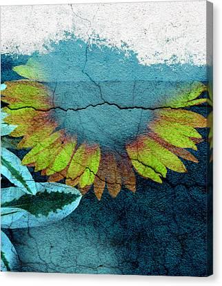 Underwater Sun Canvas Print