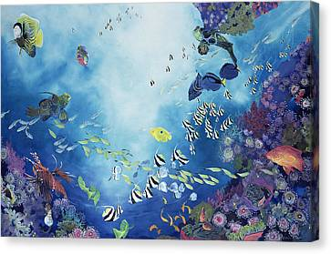 Underwater World IIi Canvas Print by Odile Kidd