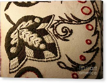 Unfolded - Close-up Canvas Print by Carolyn Powers