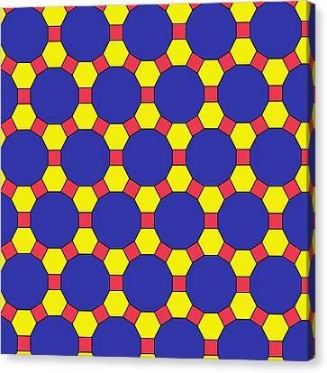 Platonic Canvas Print - Uniform Tiling Pattern by