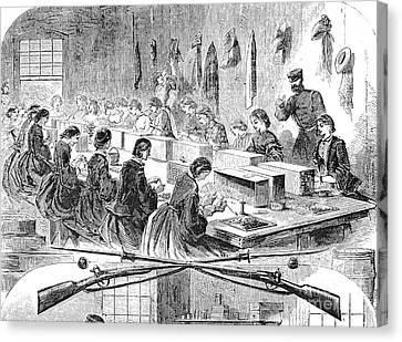 Union Arsenal, 1861 Canvas Print by Granger
