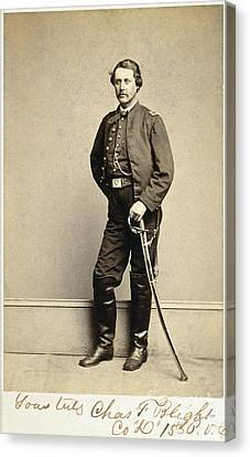 Union Soldier, 1860s Canvas Print by Granger