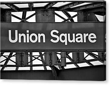Union Square  Canvas Print by Susan Candelario