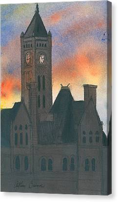 Union Station Canvas Print by Arthur Barnes