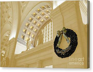 Union Station Holiday Canvas Print by Jost Houk