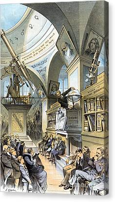 Universal Church Of The Future, 1883 Canvas Print by Science Source