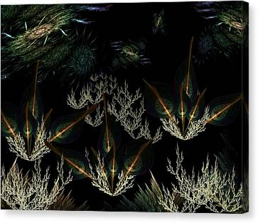 Universopolis Alpha Canvas Print by Ricky Kendall