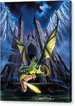 Unleashed Canvas Print by The Dragon Chronicles