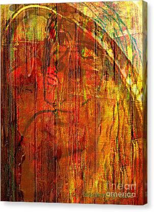 Unmixed Faith Canvas Print by Fania Simon