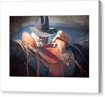 Untacking At The End Of The Day Canvas Print