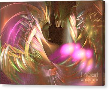 Untamed - Abstract Art Canvas Print by Abstract art prints by Sipo