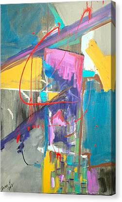 Untitled 1 Canvas Print by Travis Hart
