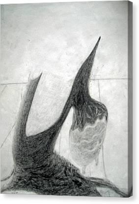 Untitled 6 Canvas Print by Duwayne Washington