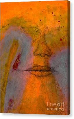 Untitled Mixed Media No. 2 Canvas Print