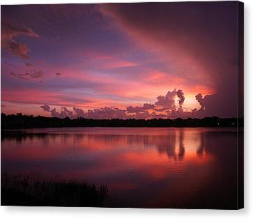 Untitled Sunset-1 Canvas Print
