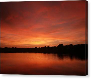 Untitled Sunset-28 Canvas Print by Bill Lucas