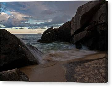 Up And Over Canvas Print by Greg DeBeck