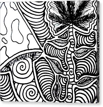 Up Close Canvas Print
