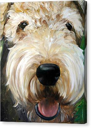Up Close  Canvas Print by Mary Sparrow