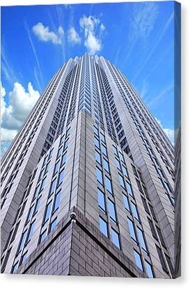 Up In The Sky Canvas Print by Kenneth Mucke