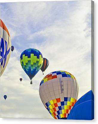 Up Up And Away Canvas Print by Carolyn Meuer-Pickering of Photopicks Photography and Art
