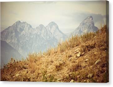 Uphill Climb Canvas Print by Betsy Barron