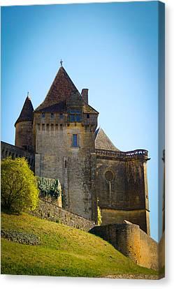 Upon A Hill - Biron Castle Canvas Print